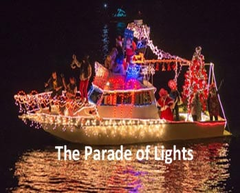 Santa Barbara Harbor Parade of Lights 2017