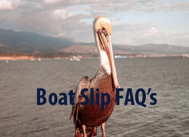 santa barbara harbor boat slips FAQ's