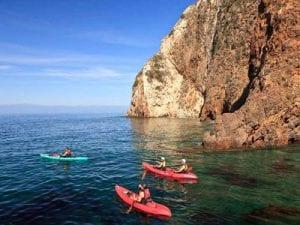 santa cruz island weather report