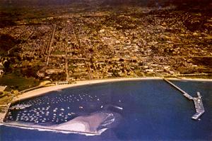 santa barbara harbor history