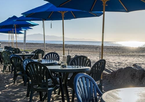 things to do santa barbara harbor shoreline beach cafe