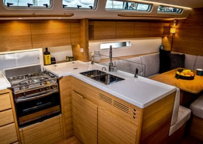 xyachts x46 galley