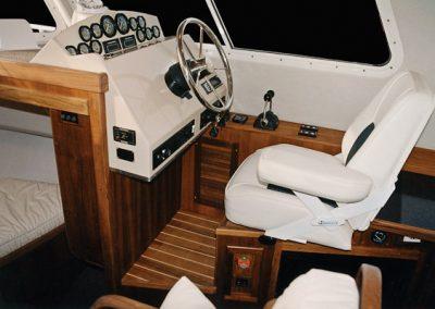 sea sport boat interior console