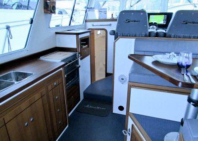 Seasport Pacific 32 Catamaran interior